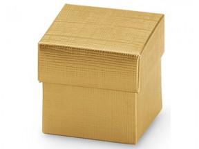 scatole cartone oro